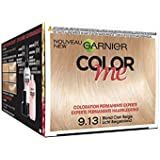 Garnier Color Me Coloration Cheveux Permanente Blond Clair Beige 9.13 - Lot de 3