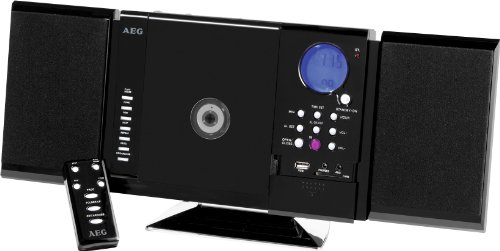 AEG MC 4421 Kompaktanlage (CD/MP3-Player, UKW/MW-Tuner, CD-RW, USB) schwarz