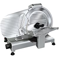 RGV LUSSO 275/S Eléctrico 150W Aluminio Plata rebanadora - Cortafiambres (Aluminio, Plata, 410 mm, 505 mm, 375 mm, 16,5 kg)