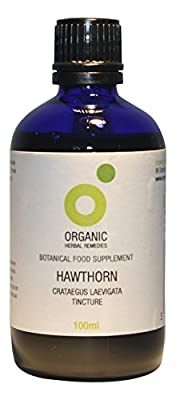 Organic Herbal Remedies 100 ml Hawthorn Tincture from Organic Herbal Remedies