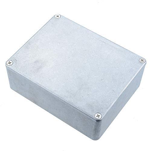 Hammond 1590BBS Stompbox Gitarreneffektpedal, 120 x 94 x 42 mm (Amp Mit Gitarre-gehäuse)