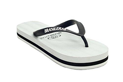 BRASILERAS - Scarpine Prima Infanzia Unisex - Adulto Nero