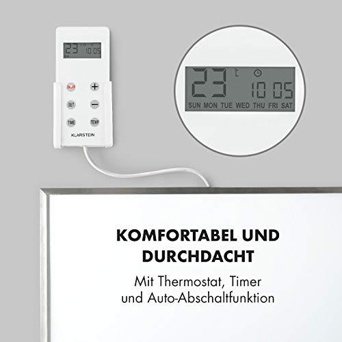 Klarstein Wonderwall 36 Infrarot-Heizung • Wandheizung • 60 x 60 cm Heizpanel • 360 Bild 6*