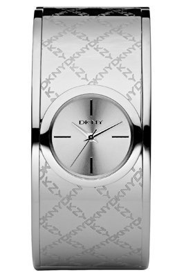 DKNY Ladies Watch NY4954 with Silver Dial and Silver Stainless Steel Bracelet