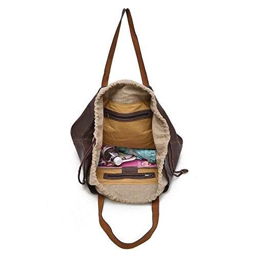 DJB/Retro Mummy Taschen groß Leder Leder Handtaschen meters white