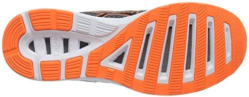 Asics Fuzor, Chaussures de Course Pour Entraînement Sur Route Homme Gris (Carbon/black/hot Orange)