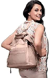 0ec2bb9cc4 Buy Ori-flame Polyester 2-in-1 Beige Bag Online at Low Prices in ...