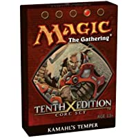 Wizards of the Coast Magic 10th Edition Theme Deck Kamahl's Temper