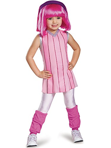 Nickelodeon's LazyTown Stephanie Deluxe Toddler Costume Large 4-6