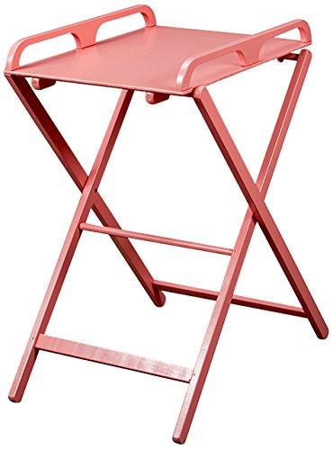 """Combelle 125 \""""Wickeltisch \""""\""""Jade\""""\"""", klappbar\"""", rosa lackiert"""