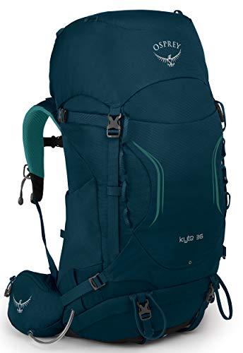 Osprey Kyte 36 Trekkingrucksack für Frauen - Icelake Green (WS/WM)