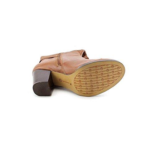 Giani Bernini Levins Rund Leder Mode-Knie hoch Stiefel Nut
