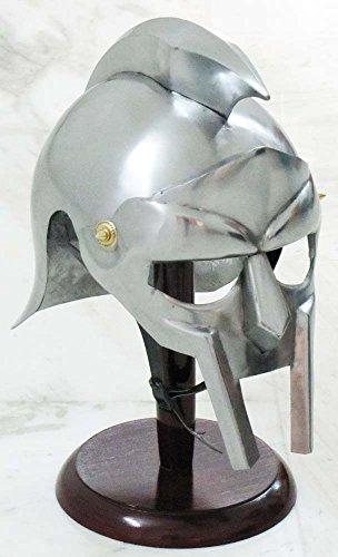 Kostüm Maximus - Shiv (TM Shakti Unternehmen Mittelalter Gladiator Armor vollständig tragbar Kostüm Maximus Decimus Meridius Helm
