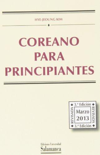 COREANO PARA PRINCIPIANTES