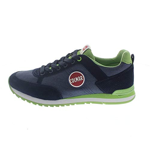 Sneakers Scarpa Colmar Original Travis Colors 012 blu e verde