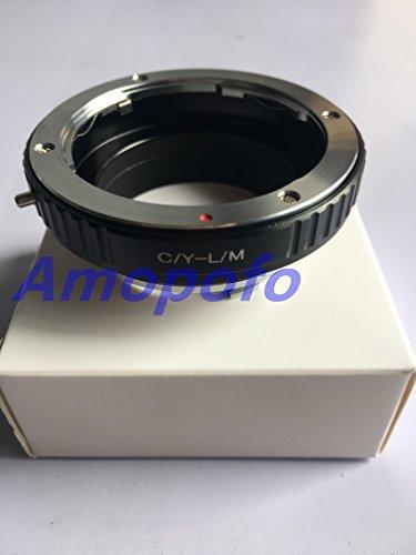 amopofo cy-lm Adapter für Contax Cy Objektiv an Leica M L/M M9M8M7M6& Techart lm-EA 7 - Contax Leica M
