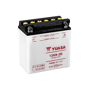 YUASA-Batterie MZ 250ccm ETZ 250 ab Baujahr 1985 (12N9-3B)