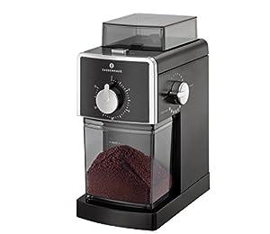 "Zassenhaus ""Kingston Electric Coffee Grinder, Steel, Black, 9 x 12 x 16 cm"