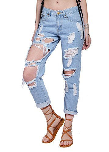 damen-denim-jeans-skinny-distressed-hosen-xl-blau