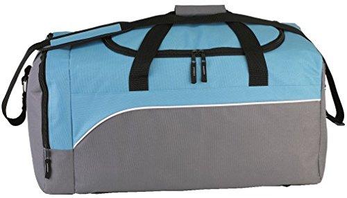 SPEAR® Sporttasche 12512 Sporting Goods Reisetasche 2 Farben schwarz/grau