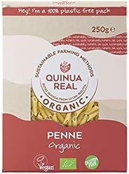 Penne de arroz y quinoa real bio gluten free - Quinua Real - 250g (caja 6 uds.) Total: 1500 g