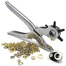 Alicates 2 en 1, máquina profesional de perforación para cuero y más, alicates y