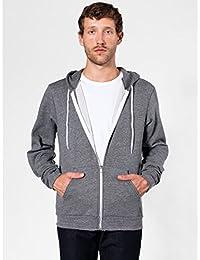 American Apparel - Sweatshirt à capuche et fermeture zippée - Homme