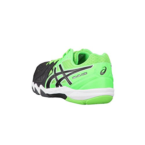 Asics Gel Blade 5, Chaussures de Handball Homme - GREEN GECKO/BLACK/DA