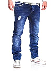 MT Styles Jeans Straight-Fit pantalon RJ-2049