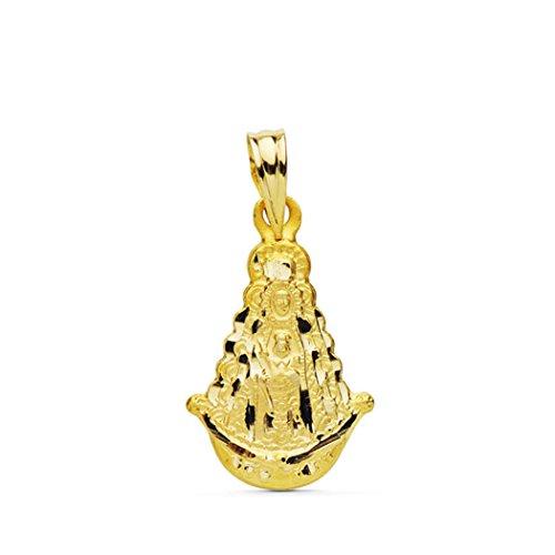P.MORA Medalla de la Virgen del Rocío de Oro de 9 klts 9k24000093 (Silueta)