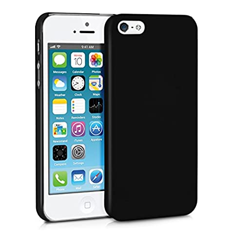 kwmobile Hülle für Apple iPhone SE / 5 / 5S - Backcover Case Handy Schutzhülle Kunststoff - Hardcase Cover
