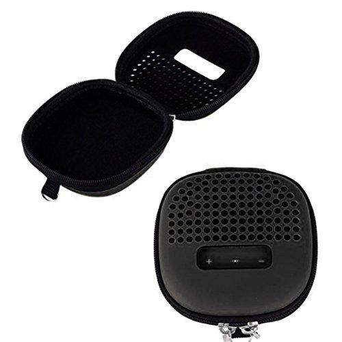 kingko Stoßfest Carry Eva Aufbewahrungskoffer Tasche für Bose Soundlink Micro Bluetooth (Universal, Schutzhülle, Kunststoff) (Schwarz)