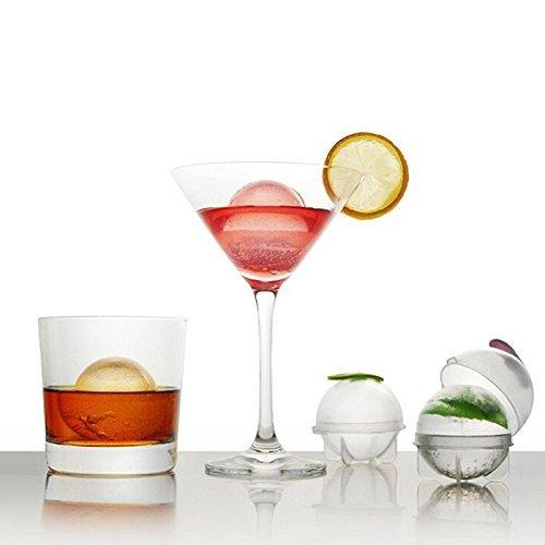 87_ solo ghiaccio stampi per bibite gassate, liquori, vino 4pezzi