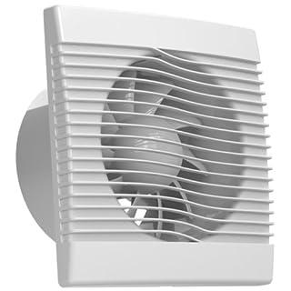 Ventilator Badlüfter Wandventilator Lüfter Ø 100 , 120 , 150 Standard , WC Bad Küche , AirRoxy pRim (Ø 150)