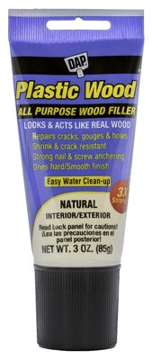DAP INC - Plastic Wood Latex Wood Filler (Squeeze Tube)