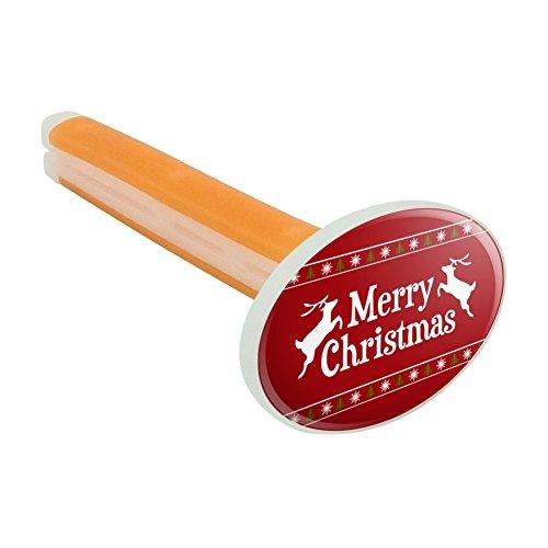 Merry Christmas Urlaub Rentier Auto-Lufterfrischer Vent Clip–Citrus Blossom Duft (Urlaub-pullover Roten Schneeflocken)