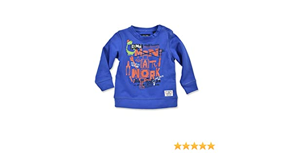62 68 74 80 86 Neu Blue Seven Baby Longsleeve Shirt langarm Pullover Dino Gr