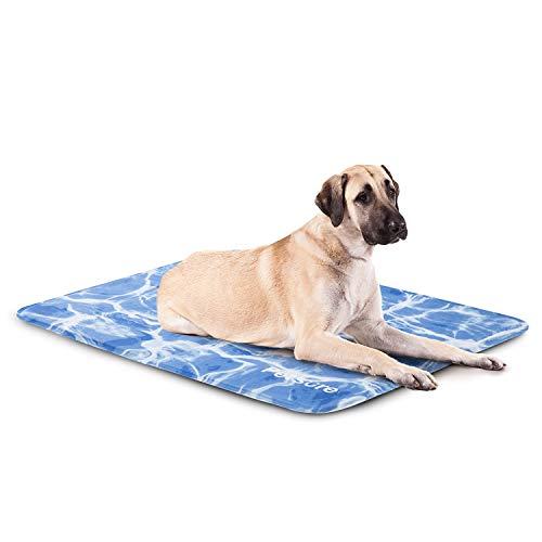 Bedsure Manta Refrescante Perro Azul - Cama Fria Perros