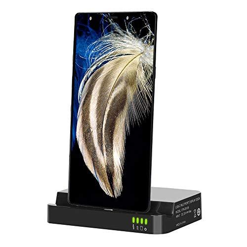 Produktbild Jamicy® HDMI Dex Station Desktop Erweiterung Ladestation kompatibel für Samsung Galaxy Note 9 / Note 8 / S8 / S9 Plus