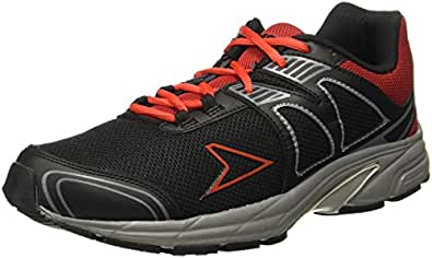 Power Men's Zander Black Running Shoes-7 UK/India (41 EU) (8396065)