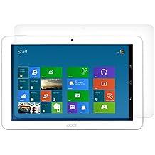 kwmobile Lámina protectora de pantalla para > Acer Iconia Tab 10 (A3-A20) < transparente - Calidad superior