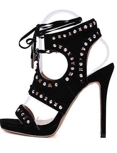 LFNLYX Chaussures Femme-Mariage / Habillé / Décontracté / Soirée & Evénement-Noir-Talon Plat-Confort / Nouveauté / Bottes à la Mode / Chaussures Black