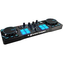 Hercules DJControl Compact - Contrôleur DJ Compact et Portatif