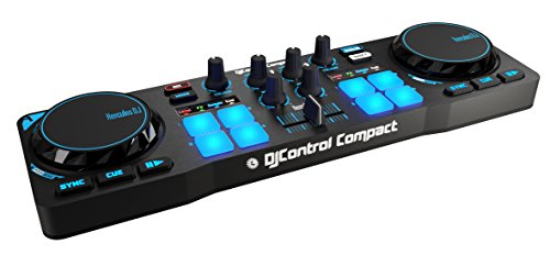 Compact (2-Deck DJ Controller, 8 Pads, DJUCED, PC / Mac) ()