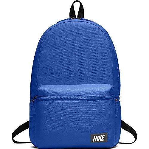 Nike Unisex-Erwachsene Nk Heritage Bkpk - Label Rucksack, Blau (Signal Blue/Black/Or), 15x24x45 centimeters