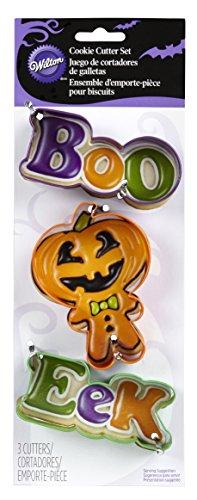 is Metall Cookie Cutter, Set von 3 (Cookie Halloween-rezepte)