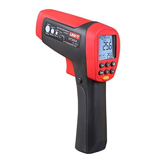 Jklnm Infrarot Thermometer IR Pyrometer Digital Temperaturmessgerät Berührungslos Temperaturmesser -50°℃~1050℃(-58℉-1922℉) Mit LCD Beleuchtung Temperaturmessgerät Temperaturmesser