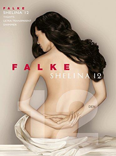 FALKE Damen Feinstrumpfhose 40027 Shelina TI 12 DEN, Gr. 38/ 40 (Small/Medium) Hautfarben (brasil 4679) - 9
