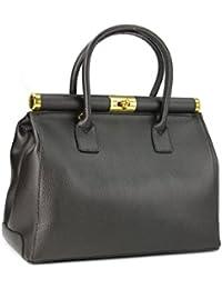 Belli ® the xL bag sac à main en cuir couleur au choix :  34 x 25 x 16 cm (l x h x p)