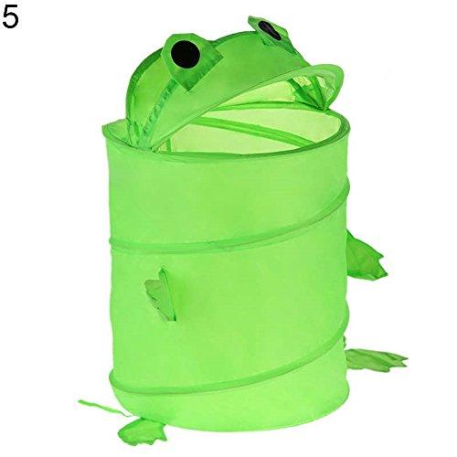 jEZmiSy Faltbare Wäschekörbe, Cartoon Tier Falten Eimer Wäsche Korb Spielzeug Schmutzig Kleider Container, Praktisch zum Kleider Lager, halten die Familie sauber und aufgeräumt 5# -